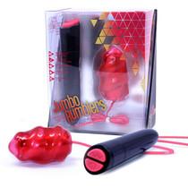 Rose - Jumbo Rumblers - Volcano - Red