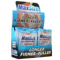 MaxSize Erectile Enhancement Formula 2 pack (24 per box)