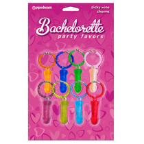 Bachelorette Party Favors Bachelorette Party Dicky Wine Charms