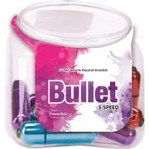Rechargeable Powerbullet Bowl 12pcs/Bowl Asst Colors