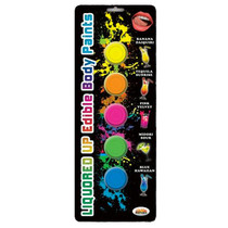Liquored Up Body Paints 50ml 5 Assorted Flavors