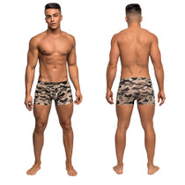 Male Power Commando Mini Short Camo Large