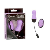 Simple and True Vibrating Remote Control Egg Purple