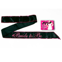 G.I.T.D. Bride To Be Sash Pink