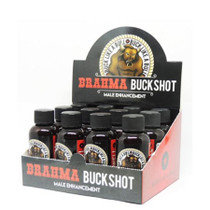 Brahma Buckshot Male Enhancement Shot 2oz Display (12/Display)