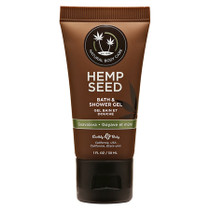 Earthly Body Hemp Seed Shower Gel Guavalava 1oz