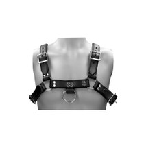 Ouch! Pain - Saddle Leather Heavy Duty Male Chest Harness