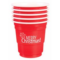 Shot Glasses Merry Christmas 12/Per