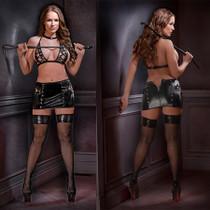 Lust Fetish Clio S/M Black