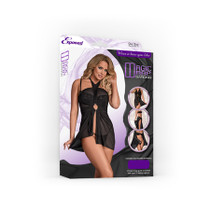 Magic Silk Magic Wrap Black Queen Size