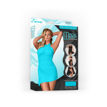 Magic Silk Magic Wrap Turquoise One Size