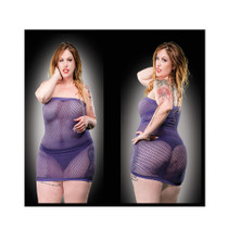All Over Mesh Curvy Sizes - 73264