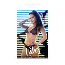 Vibes Fuck Cancer Bralette/Panty Blk S/M