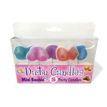 Dirty Boobs Candles