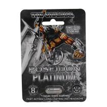 Poseidon Male Supplement Platinum 1Pk Open Stock