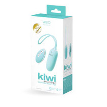 Vedo Kiwi Rechargeable Insertable Tease Me Turquise Bullet