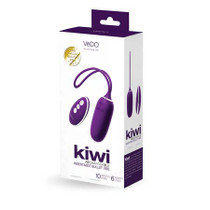 Vedo Kiwi Rechargeable Insertable Bullet Deep Purple