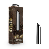The Realm Silver Rechargeable Bullet