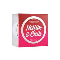 Netflix & Chill Massage Candle Netflix & Chill Berry Yummy 4 oz/113 g