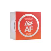 Hot AF Pheromone Massage Candle Black Cherry 4 oz/113 g