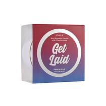Get Laid Pheromone Massage Candle Passion Fruit 4 oz/113 g