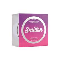 Smitten Pheromone Massage Candle Smitten Strawberry & Champagne 4 oz/113 g