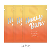 Honey Buns Warming Arousal Gel (Bulk Pack/24 pcs) .03 oz Foils