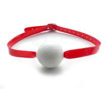 KinkLab Jawbreaker Ball Gag (Red)