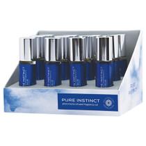 Pure Instinct Pheromone Fragrance Oil True Blue Roll On Display of 12