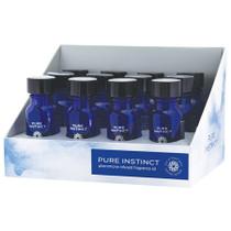 Pure Instinct Pheromone Fragrance Oil True Blue Display of 12