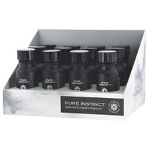 Pure Instinct Pheromone Cologne Oil For Him 0.5oz Display of 12