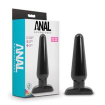 Anal Adventures - Basic Anal Plug - Large - Black