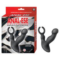 Anal-Ese Collection Scrotum & P-Spot Stimulator - Black