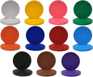 25 SUPER DIAMOND 8.5gm Poker Chips - CHOOSE COLOR!