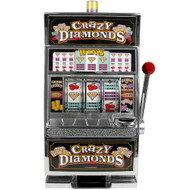 CRAZY DIAMONDS Slot Machine Bank Authentic Replica