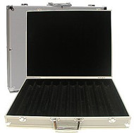 HEAVY DUTY ALUMINUM 1000 POKER CHIP CASE