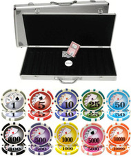 YIN YANG 13.5gm CLAY 500 Chip Poker Set - CHOOSE CHIPS