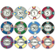 50 Milano Casino Claysmith 10gm Premium Clay Poker Chips - Choose Chips