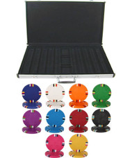 Blank Claysmith 14gm 1000 Chip Clay Poker Set W/aluminum Case - Choose Chips