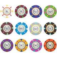 50 THE MINT Claysmith 14gm Clay Poker Chips - Choose Chips