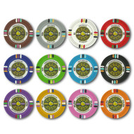 50 Gold Rush Claysmith 14gm Clay Poker Chips - Choose Chips!