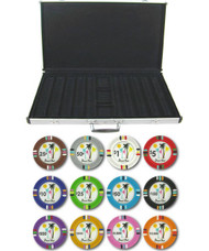 Desert Heat Claysmith 14gm 1000 Chip Clay Poker Set W/aluminum Case - Choose Chips!