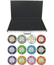Bluff Canyon Claysmith 14gm 1000 Chip Clay Poker Set W/aluminum Case - Choose Chips!