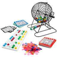 Deluxe All-In-One Complete Bingo Set - New Larger Size!
