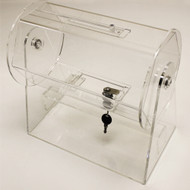 Compact Size Acrylic Raffle Drum - Fits up to 2000 Tickets!