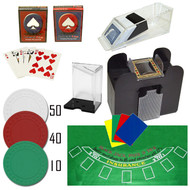 Professional Blackjack Set - Everything You Need to Play Blackjack at Home!