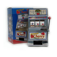 Cherry Bonus Mini Slot Machine Bank