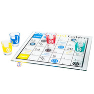 Shooters and Ladders Drinking Game Set - Drinking Game for Adults