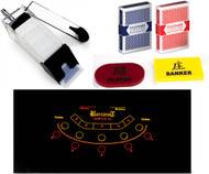 Professional Casino Style Portable Mini Baccarat Set - Play Baccarat At Home!