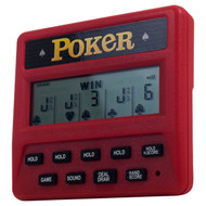 Las Vegas Style Electronic Handheld 5 in 1 Poker Game